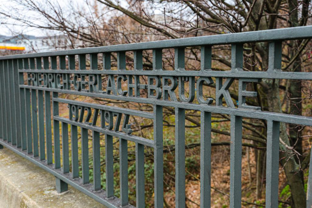 Die Friedrich-Gerlach-Brücke kann weg!